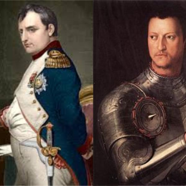 Sulle orme di Cosimo e Napoleone