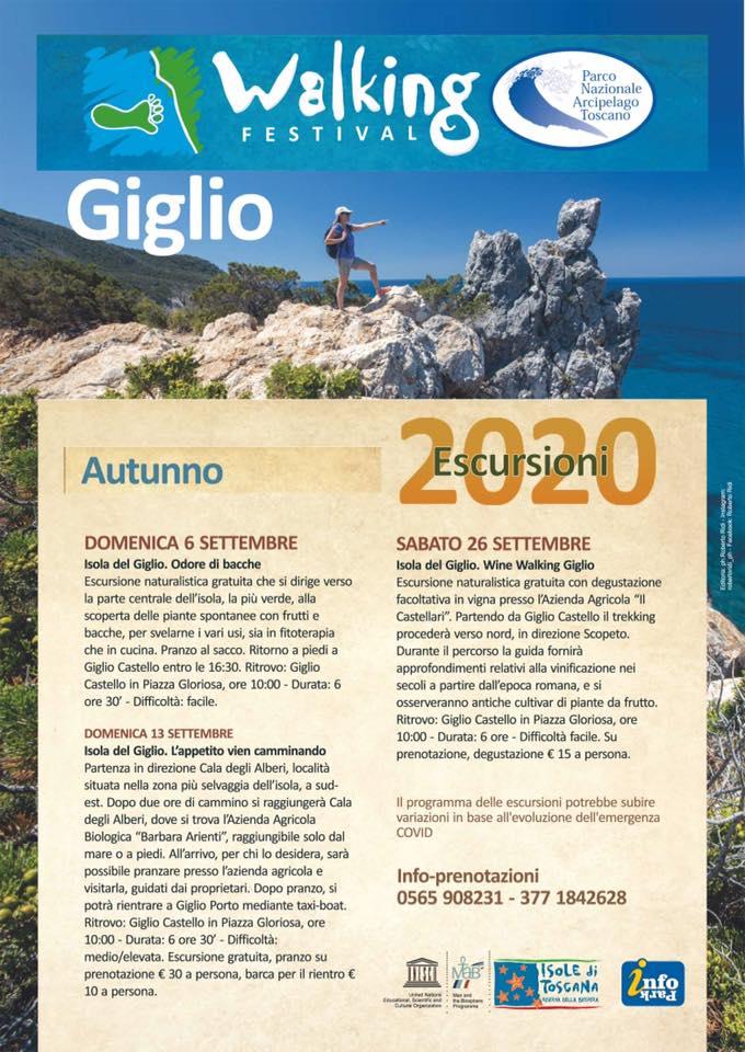 Walking Festival isola del Giglio