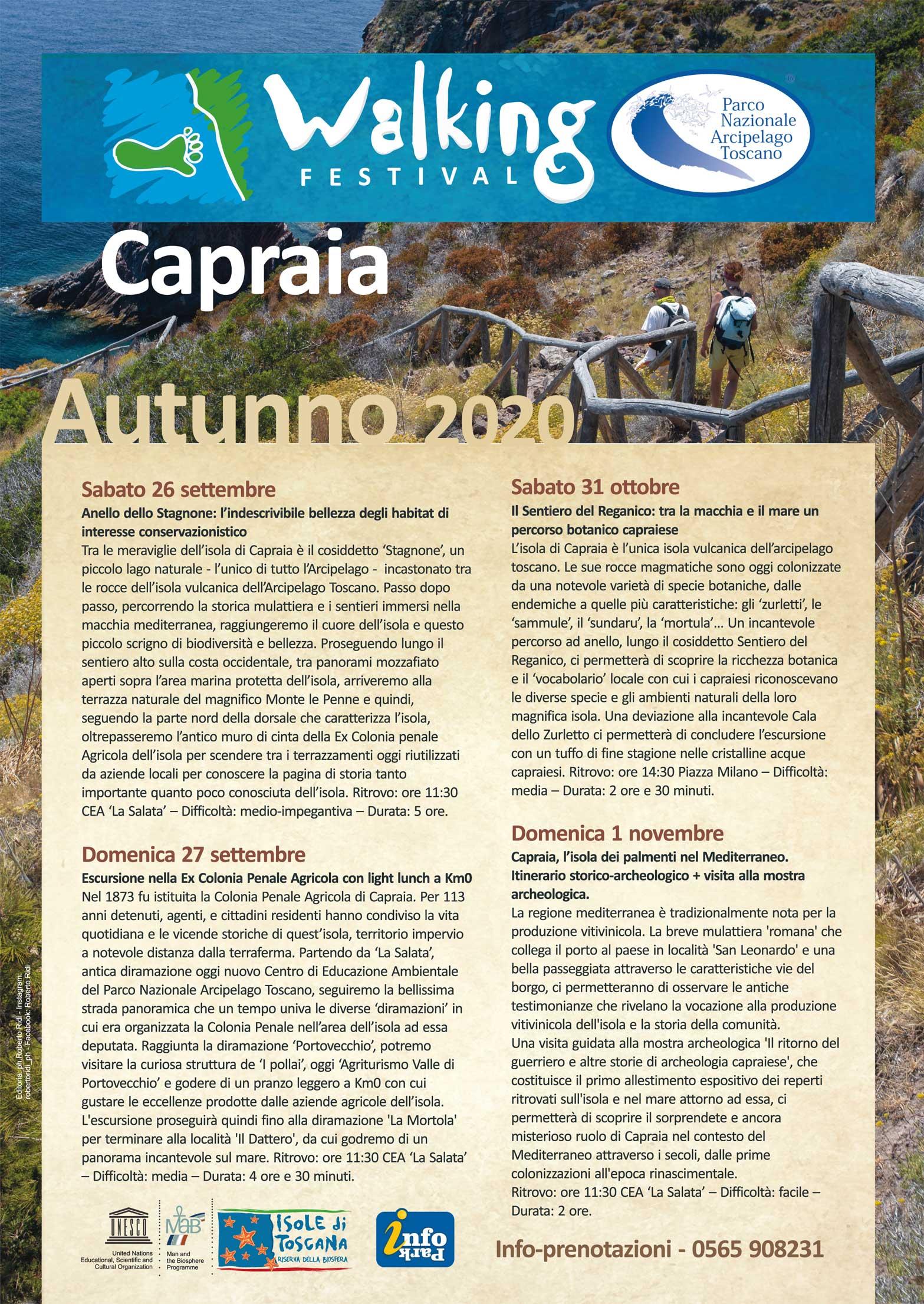 Walking Festival Capraia
